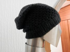 Pieces Beanie black wool