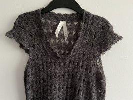 Tredy Vestido tejido gris antracita