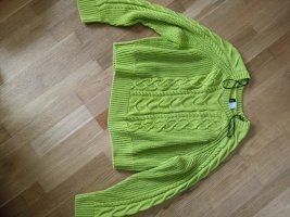 H&M Divided Knitted Sweater meadow green