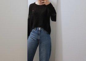 Sublevel Pull tricoté noir