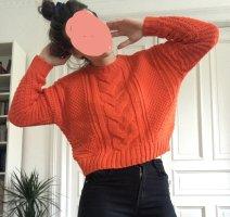Strickpullover H&M Divided orange XS