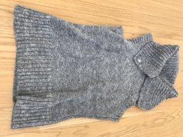 Zero Short Sleeve Knitted Jacket light grey-grey