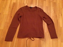 Kapalua Knitted Sweater cognac-coloured
