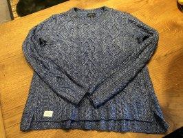Polo Ralph Lauren Jersey trenzado azul-azul celeste