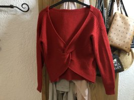 Strickpullover rot