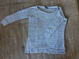 Kbk Coarse Knitted Sweater white-azure