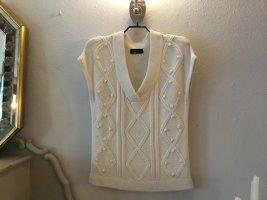 Vero Moda Sweter bez rękawów z cienkiej dzianiny