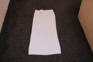 Apart Impressions Jupe tricotée blanc cassé laine