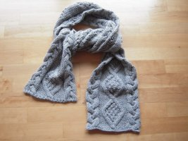 Only Knitted Scarf light grey