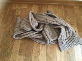 Hallhuber Écharpe en tricot beige