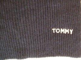 Tommy Hilfiger Bufanda de punto azul oscuro