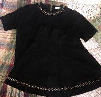 Zara Knit Tailleur doré-noir
