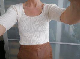 Asos Haut tricotés beige clair