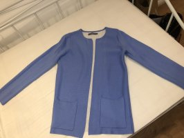 B.young Cardigan cornflower blue cotton