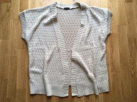 Cardigan en crochet beige clair