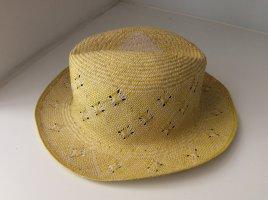 Cappello di paglia giallo pallido-oro