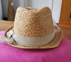 Hat attack Chapeau de paille beige