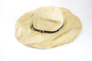 Zara Cappello di paglia sabbia-marrone-nero Viscosa