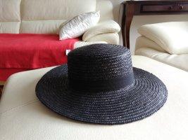 F&F Straw Hat black-taupe