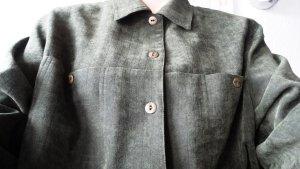 Strukturierte weiche Hemd-Bluse