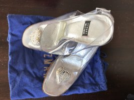 Stuart Weitzman Cinderella Peep Toes, 100mm