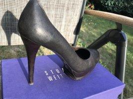 Stuart Weitzman Pumps Damenschuhe Gr. 41 Braun Echtleder
