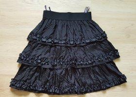 C&A Falda gitana negro acetato