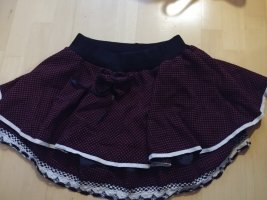 innocent lifestyle Broomstick Skirt black-bordeaux