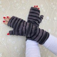 Handmade Puño negro-gris Algodón