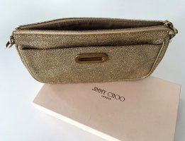 Stylische JIMMY CHOO Clutch in gold