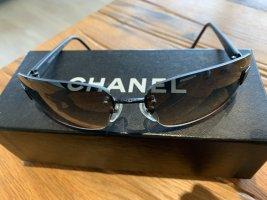 Chanel Kwadratowe okulary przeciwsłoneczne czarny