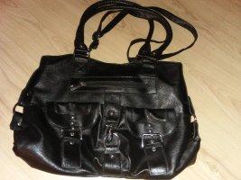 Stylische Tasche Schwarz Neu Tolle Details NEU mit Etikett