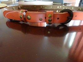 Stylischeer Ledergürtel mit Nieten - EXPRESSO - GR 80  NEU