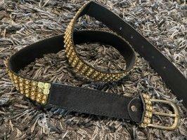 Hip Belt black-gold-colored