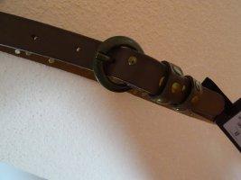 Stylischer Ledergürtel mit Nieten - GR XS - ca. GR 75 - NEU