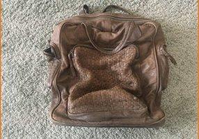 Stylischer Lederrucksack/-Tasche von Another Bag