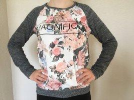 Stylischer Pullover mit floralen Blumenmuster