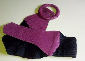 Waist Belt black-purple
