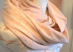 stylischer wunderschöner Schlauchschal Schal mit Nieten neu Blogger