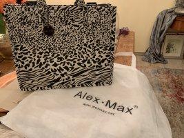 Alex. Max Shopper noir-blanc