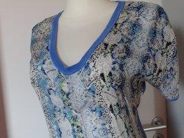 Versace Robe à manches courtes multicolore soie