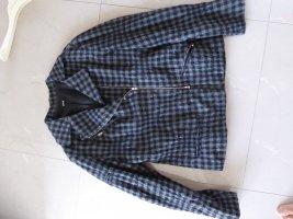 Yukai Veste en laine gris foncé laine