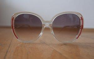 Gafas de sol blanco-rojo ladrillo