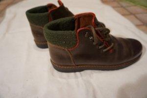 Südtiroler Trachten Halb Schuhe braun Größe 38