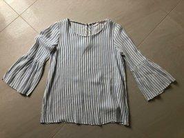 süße Bluse mit Schlagärmeln von Zara, Gr. XS