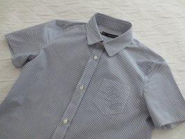 Dsquared2 Camicia blusa blu acciaio-bianco Cotone