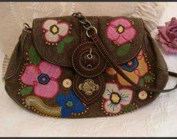 Süße Handtasche von Oilily, selten, Vintage, Hingucker, braun, neuwertig