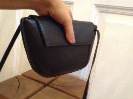 Süße kleine 80er Vintage Funbag Tasche Hardcase Handtasche Echtes Leder