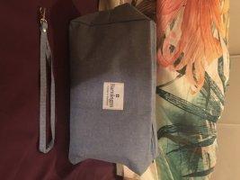 süße Kosmetik- Kulturtasche von Barnängen Stockholm aus hellblauen Jeansstoff, komplett NEU