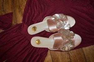 Buffalo Sandały plażowe srebrny-różany
